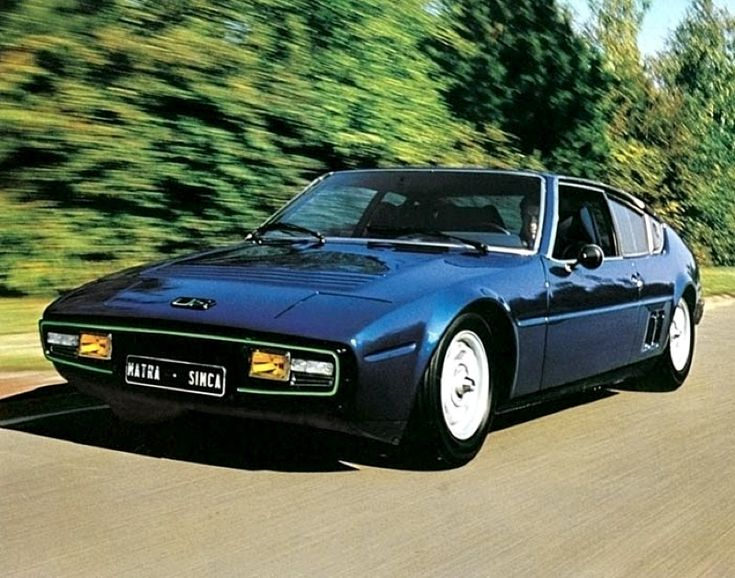 Matra-Simca Bagheera U8 1974 - Only 3 Made - U8 Coupled Engines-2.6Litres-268Bhp-5Speed
