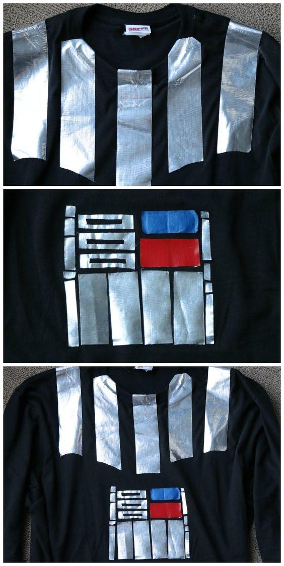 Darth Vader Duct Tape Shirt