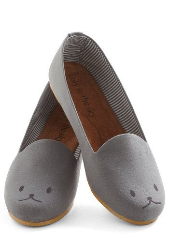 """they call it a """"critter"""" but i'm not fooled; it's a shoe with a cat on it! thanks @Sara Wolcott"""