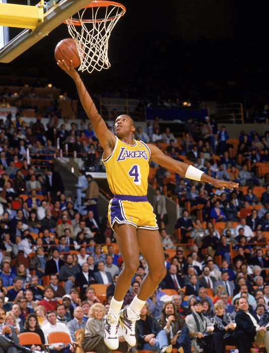 Byron Scott, who played for the Los Angeles Lakers from 1983 to 1993.