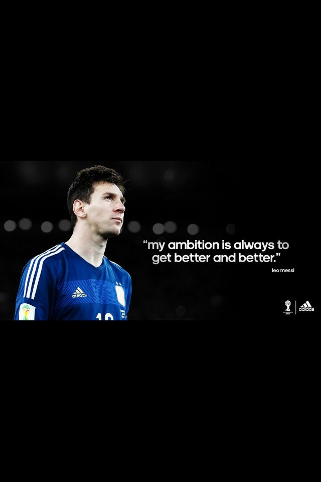 @teammessi on twitter messi quotes | Soccer god-MESSI 10 ...