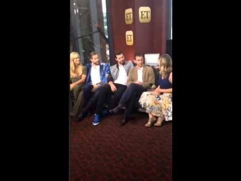 ET interview with Hannibal cast on Periscope - YouTube