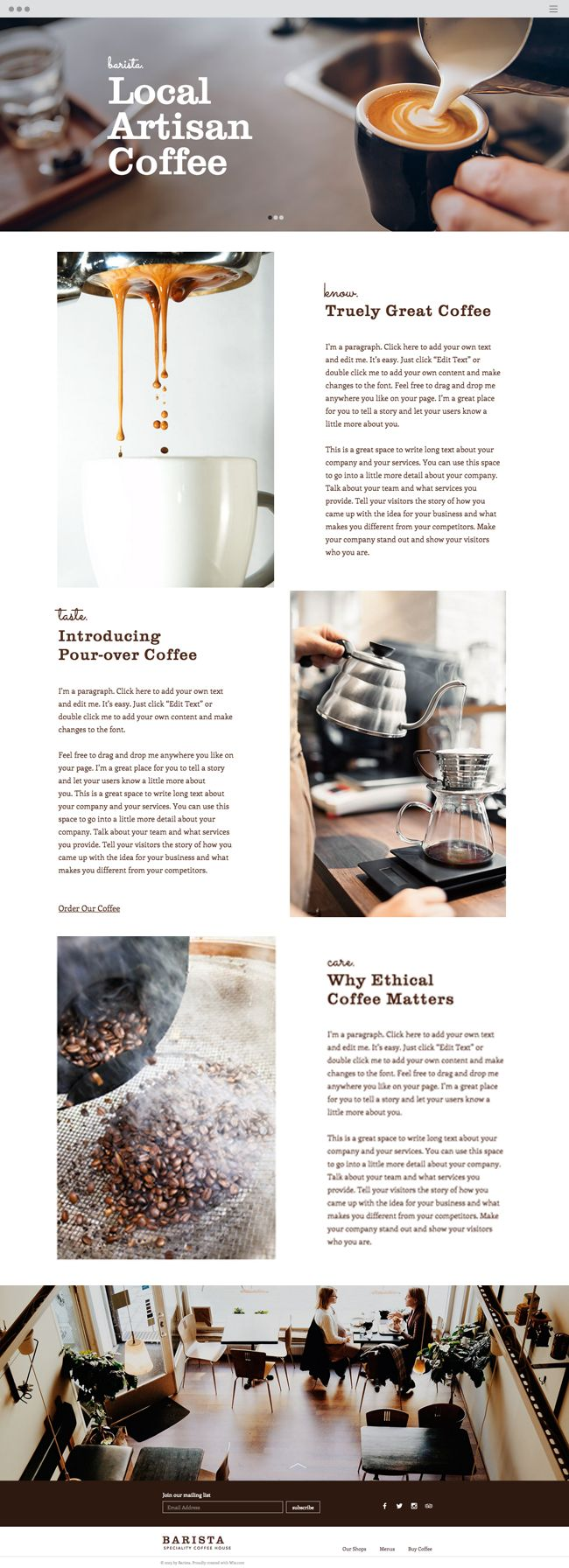 best images about wix website templates editor coffee house website template