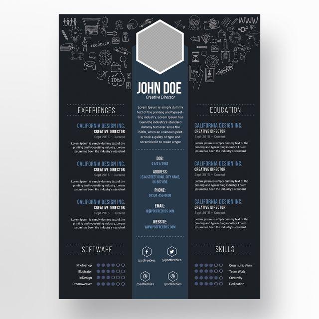 Disenador Reanudar Resume Design Logo Design Free Templates Graphic Design Resume