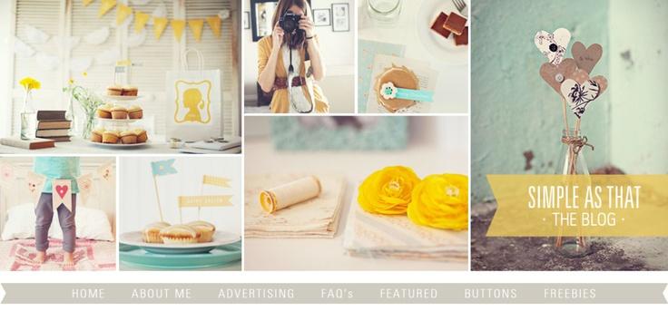 Precioso el blog, de manualidades y preciosas fotografias.