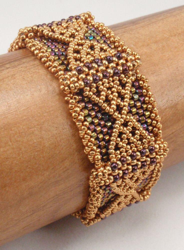 Beading Tutorial For Thorbardin Bracelet Jewelry Pattern