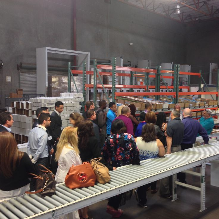 Community Day at the SEACRET Distribution Center.