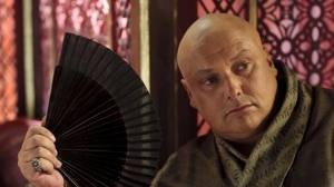 """Varys is a eunuch, a secret keeper, and the Master of Whisperers (the king's Spy Network). He is an advisor on the king's small council. Varys is a Power of Truth character. These characters believe the world is filled with hidden dangers, illusive enemies and concealed pitfalls. His philosophy might be stated: """"Things are never what they seem."""" """"Trust no one."""" """"Watch out for secret agendas and hidden pitfalls."""" http://www.etbscreenwriting.com/nine-character-types/power-of-truth/"""