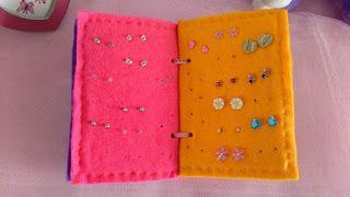 Algunas Cositas Mias... :) : Organizador de Aretes para niñas