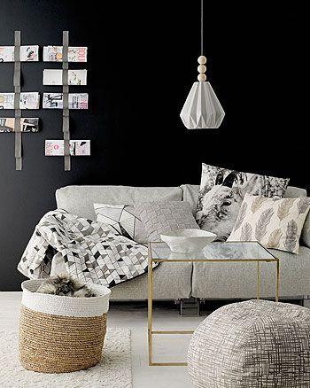 Møbelull lys grå melert Australsk - Stoff & Stil