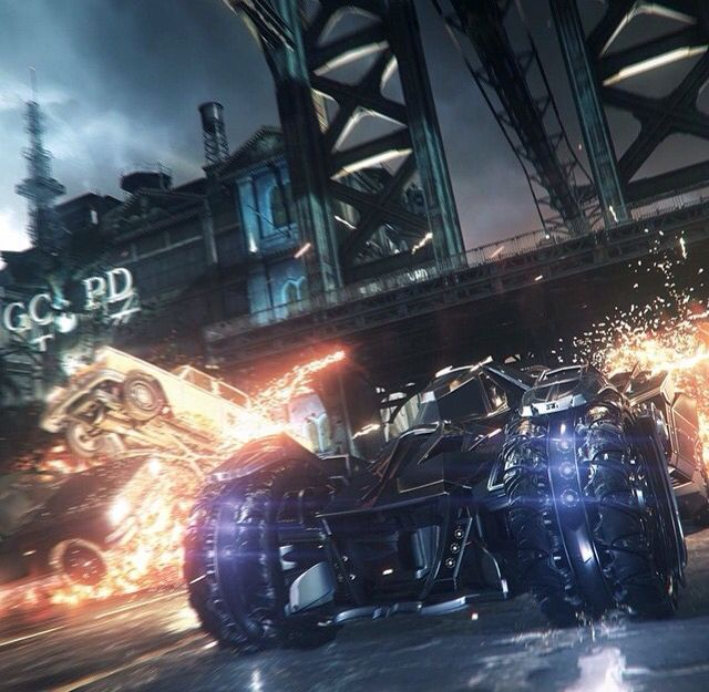 Batman Arkham Knight Batmobile