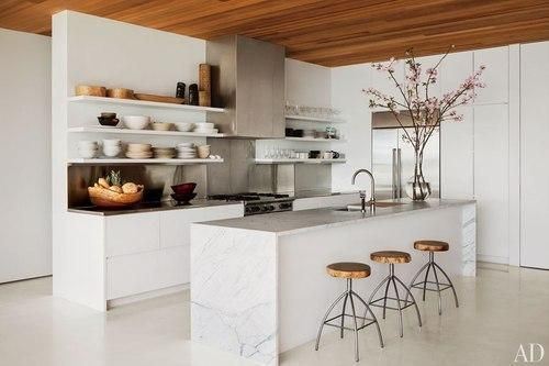 Cool White Kitchens, From Modern to Rustic