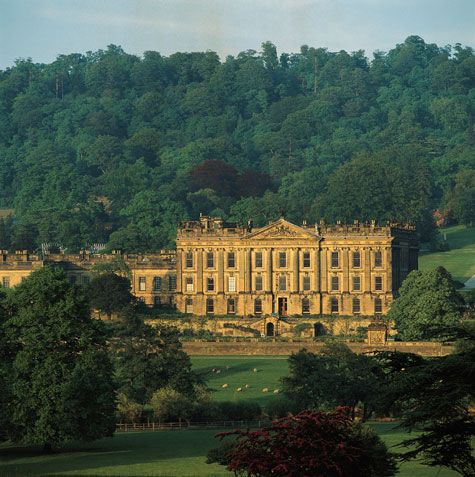 Chatsworth House, AKA Pemberley.