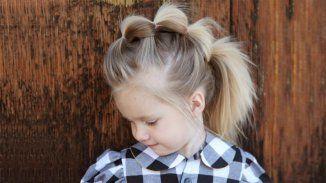 La queue-de-cheval rock pour petite fille