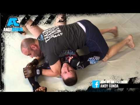 ANDYCONDA Luta Livre MMA Techniques from Sidemount.