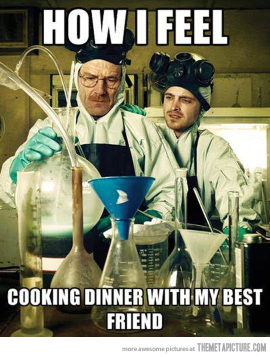 Or just cooking period