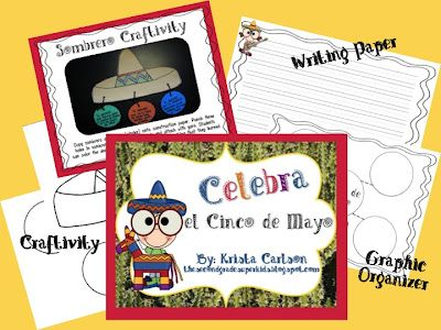 Cinco de Mayo Freebie and Linky from The Second Grade Superkids