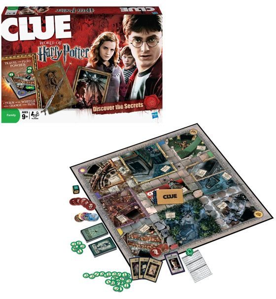 World of Harry Potter Clue Game $29.59