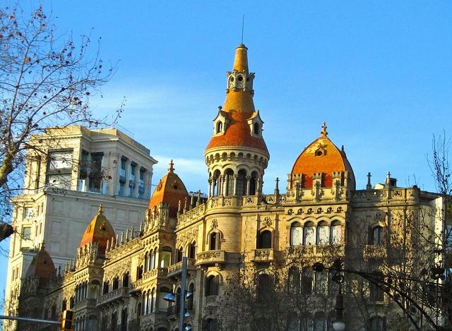 Interesting architecture around Barcelona.