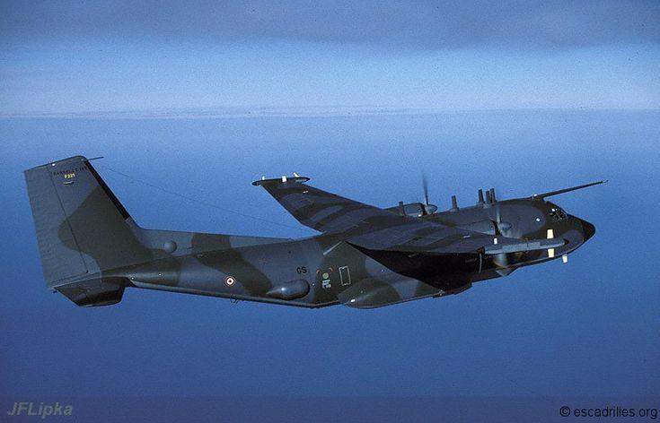 French Armée de l'Air 1995 - Transall C-160G.