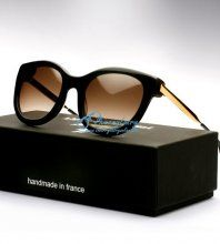 Thierry Lasry Lively 101 Black Sunglasses