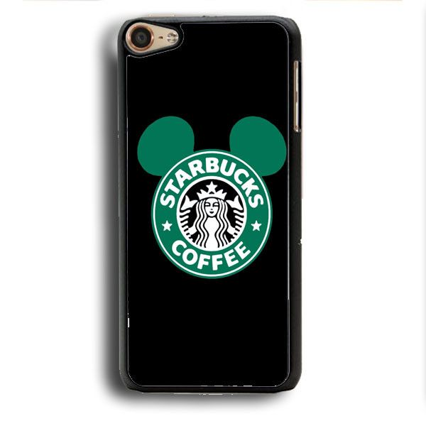 This is a Starbucks Mickey Inspired iPod Touch 6 Case , high flexibility, and…