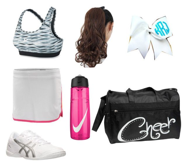 """Cheerleading training"" by nailstyle ❤ liked on Polyvore"