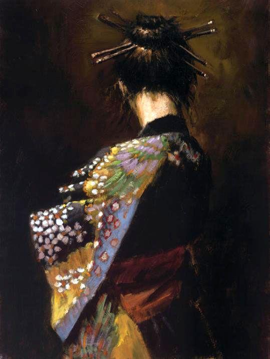 Geisha...by unknown artist