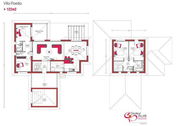 22 best Plans De Maison images on Pinterest Contemporary homes - maison de 100m2 plan
