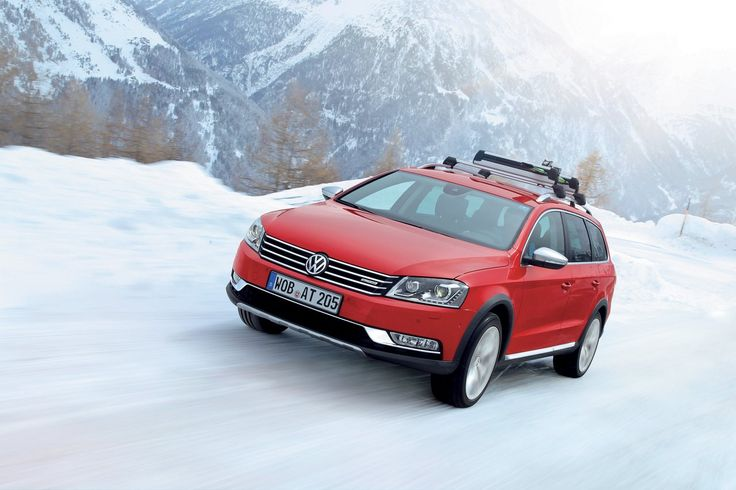 VW winter driving