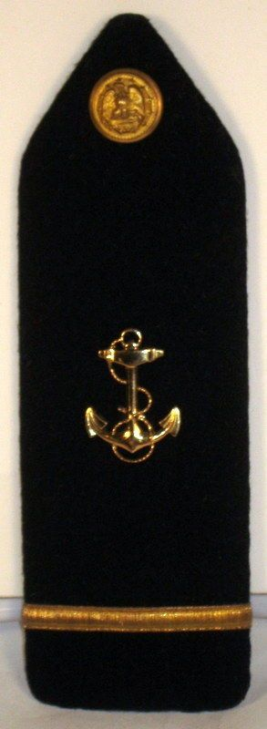 US Navy Midshipman USNA Naval Academy NROTC Male 1st Class Shoulder Board