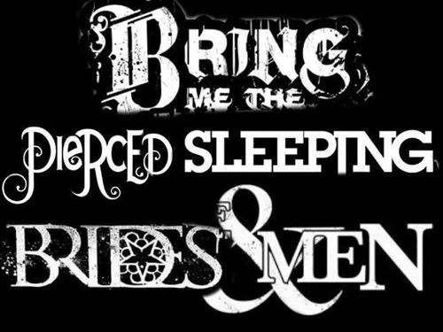 Bring Me The Horizon, Pierce The Veil, Sleeping With Sirens, Black Veil Brides, and Of Mice & Men