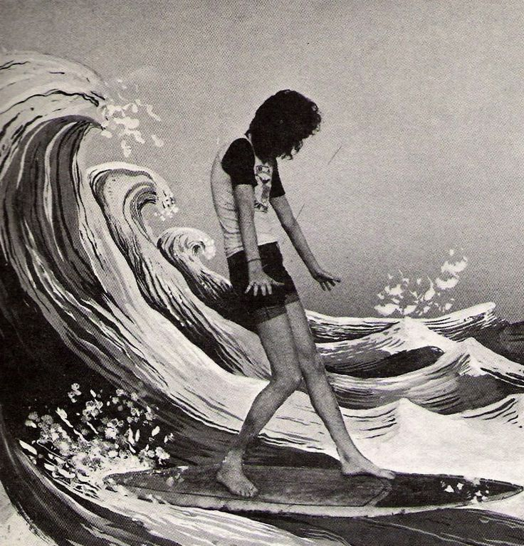 Joey Ramone, on a fake wave...bless him