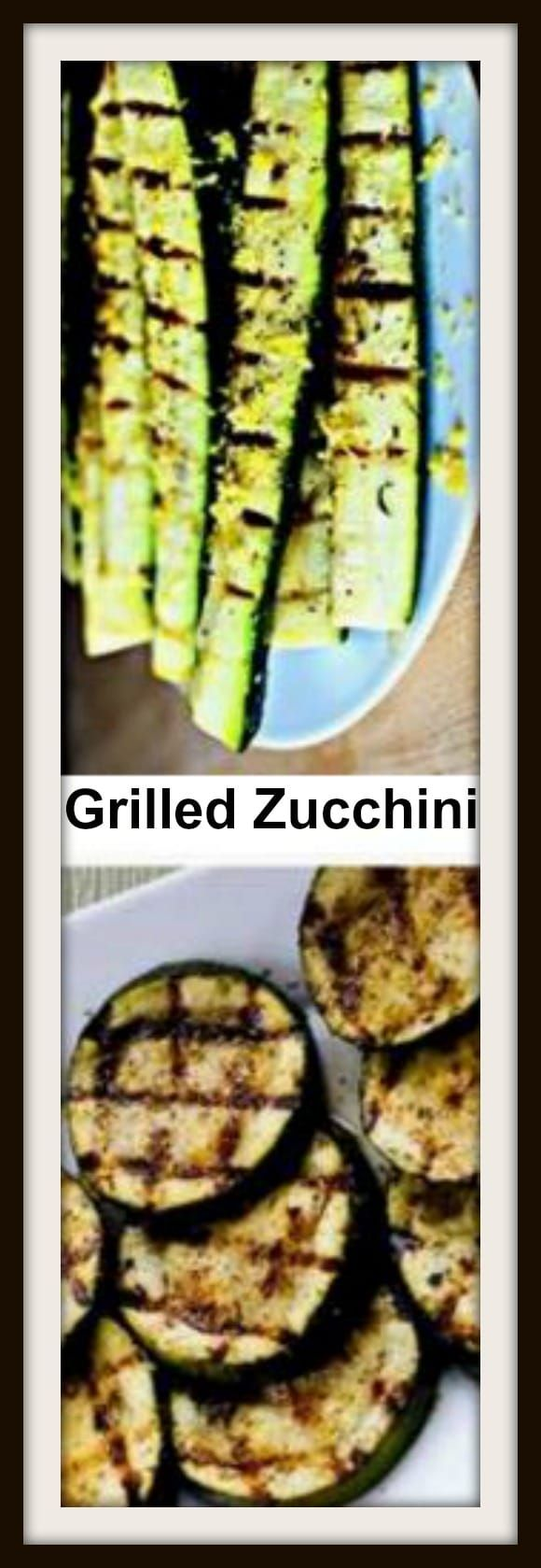 Zucchini with Lemon Salt How to Grill Zucchini - Perfect Every Time ...
