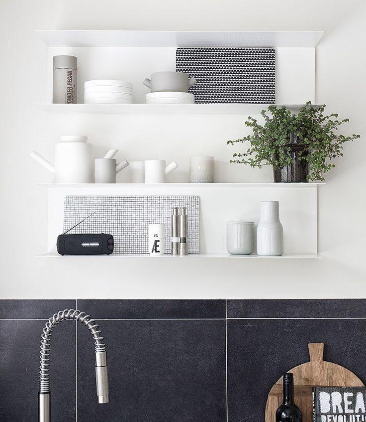 T.D.C | monochrome kitchen love