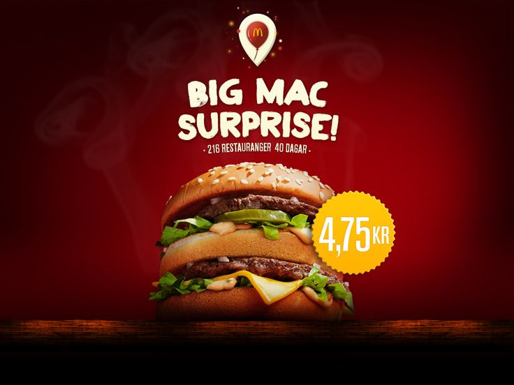 Big Mac Surprise - McDonald's Sweden #McDonalds #BigMac #Sweden #Sverige