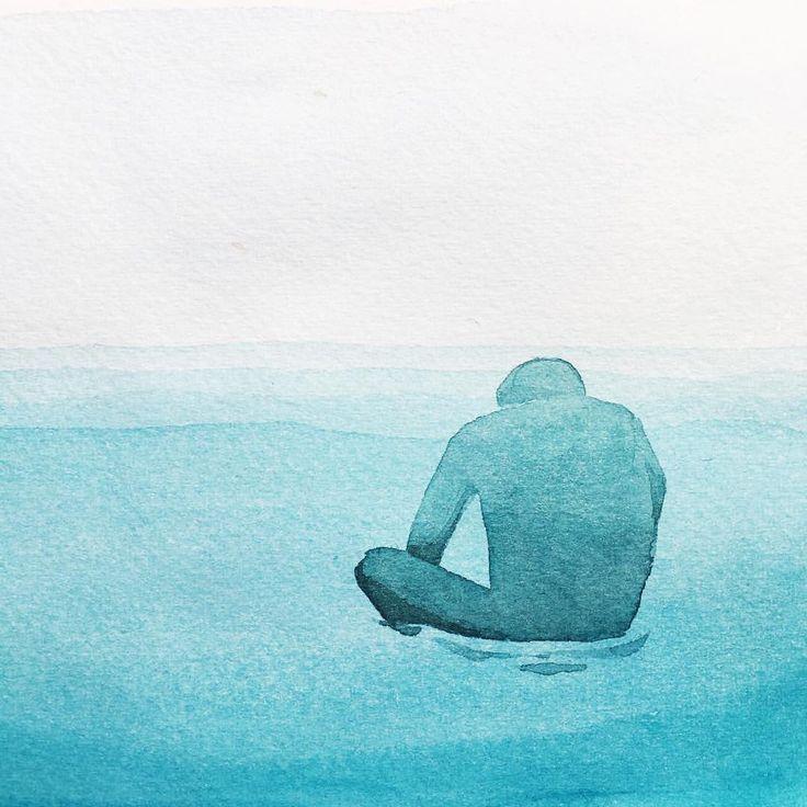 приблизительным рисунки про одиночество красками начале ноября звезда