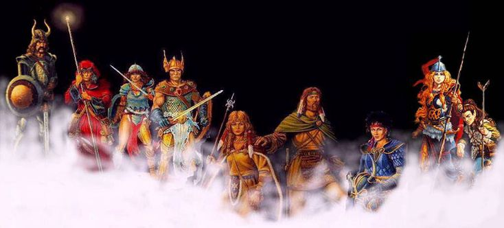 "jonathanraychapman: ""Wishing for a DragonLance Computer RPGSo I've been waiting on a computer DragonLance RPG game pretty much my entire life. Yeah I know about the old TSR game (and I do love it), but I mean something more modern. I just freaking..."