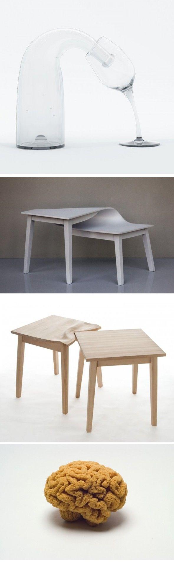 L'artiste française Suzy Lelievre, basée à Paris, transforme les objets du quotidien en forme incongrue. Elle s'approprie et métamorphose tous les éléments de la domesticité, le plus humble outil prend, chez elle, des voies de traverse.  Adepte de la dérive et du détournement poétique, elle interprète à sa manière l'avenir de ces objets qui, parfois, ne restent qu'au stade de projet virtuel. //design d'objet //déformation //détournement d'une éponge