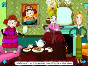 Les applications numériques - Livres pour enfants - Gallimard Jeunesse Interactive story of Cinderella.