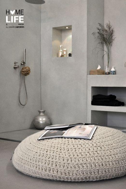 Paulina Arcklin Mooi Inspiratie beeld betonlook!!  Interesse in betonlook, betoncire, mortex, tadelakt wanden, vloeren, meubels?  www.molitli.nl of www.betonlookdesign.nl