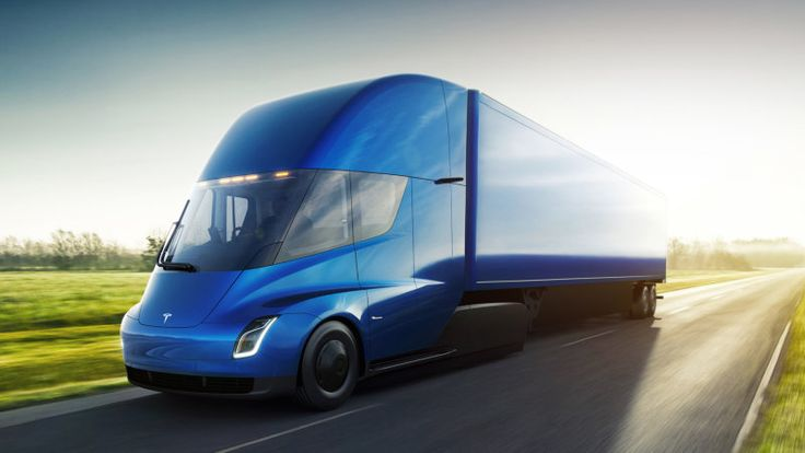 Tesla just unveiled its electric Semi Truck