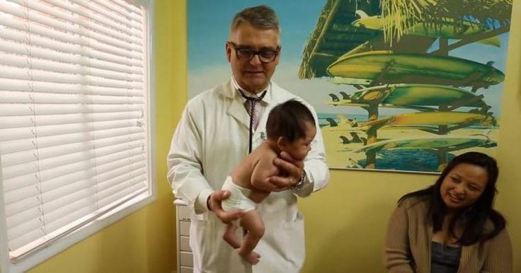 Ce pédiatre dévoile une méthode infaillible pour calmer un bébé