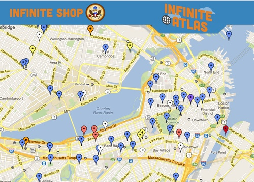 Infinite Atlas: interactive map app charting the locations that inspired Infinite Jest