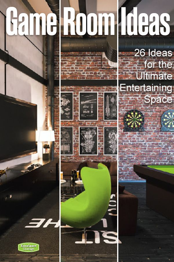 Create An Awesome Home Game Room With These 26 Ideas Game Room