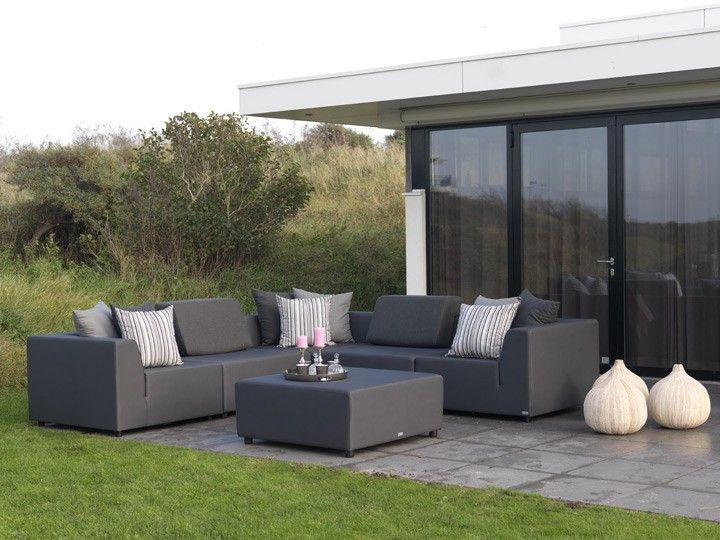Gartenmobel Bauen Holz : BELLO Lounge Gartenmöbel Lounge Gartenset 6teilig Silvertex