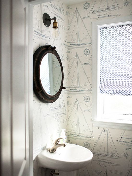 Porthole Mirrors and Windows for Decoration | Nautical Handcrafted Decor Blog