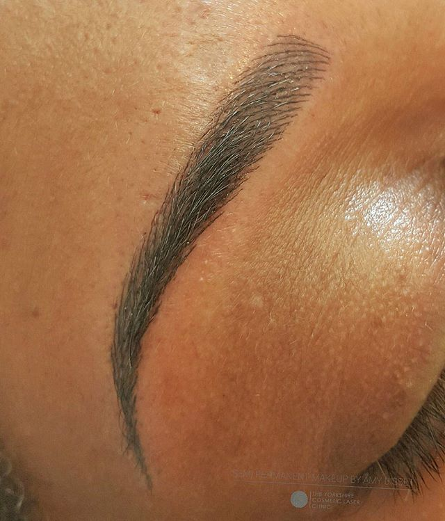 Just alittle bit obsessed fresh Semi Permanent Eyebrows #browsonpoint…