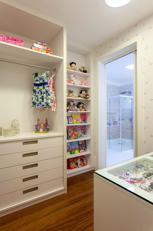 Closet Infantil, Menina, Armário Branco