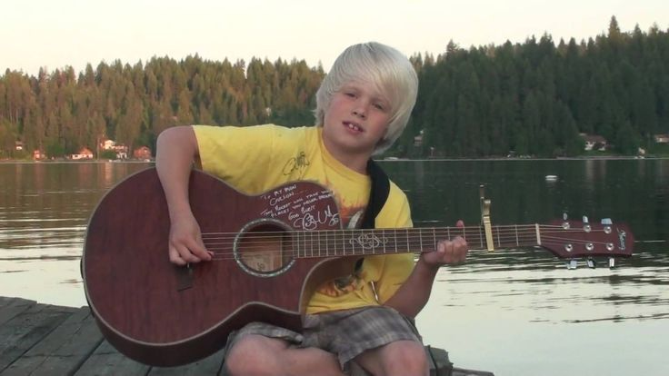 "Carson Lueders, age 8, original ""Big Mouth Bass"" Colgate Country Showdow..."